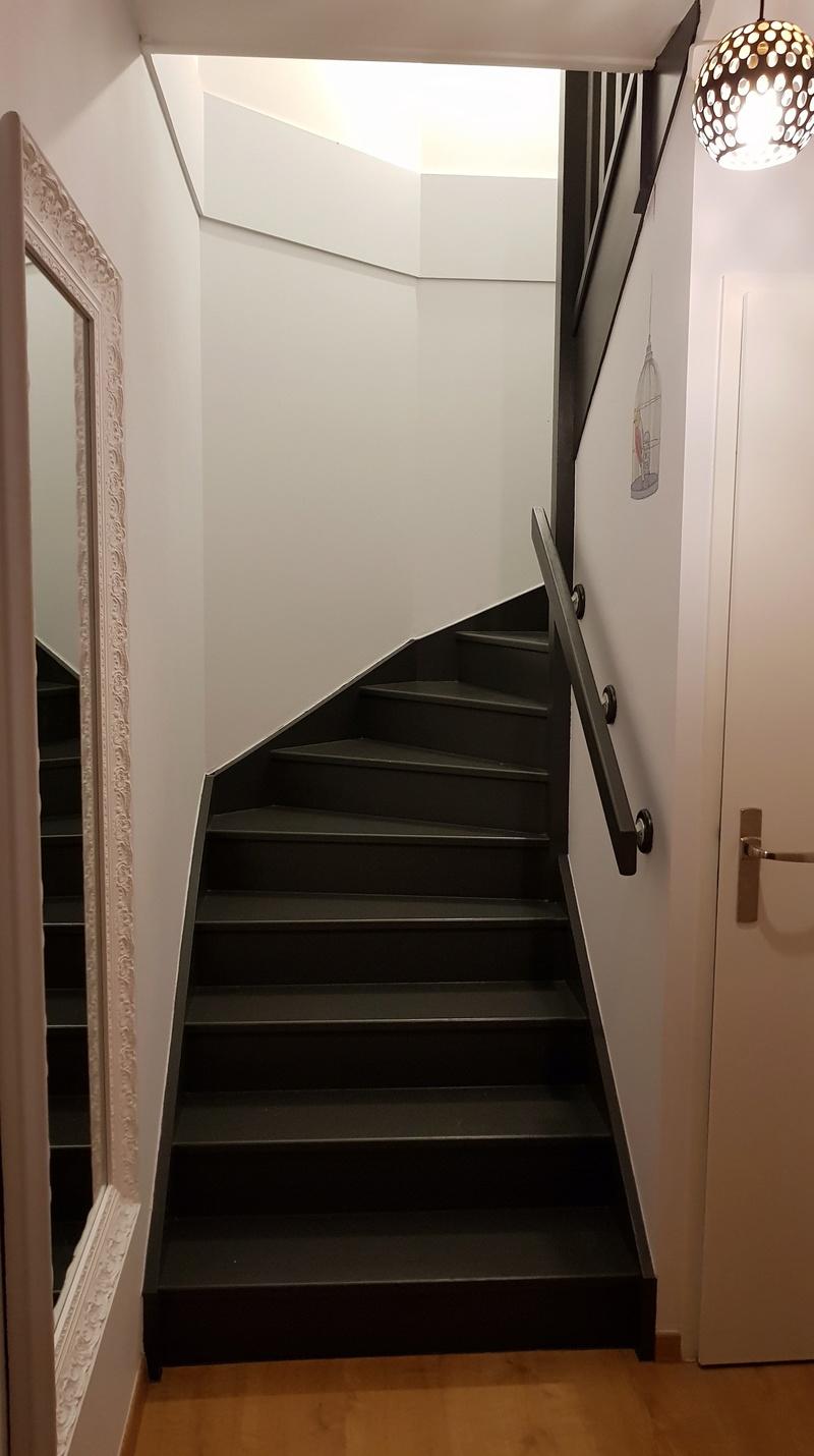 Décoration d'une cage d'escalier 20180410