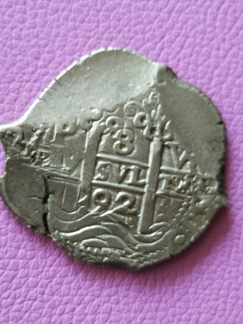 8 Reales Carlos II 1692 Potosi  Img_2021
