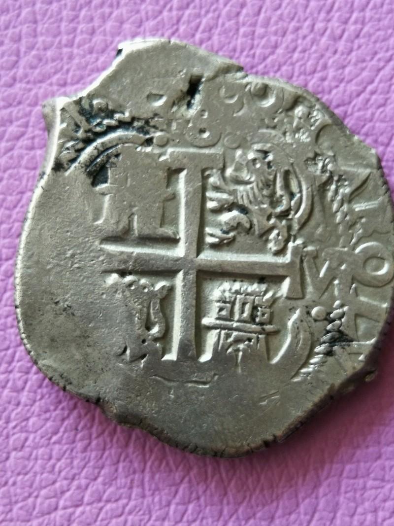 8 Reales Carlos II 1692 Potosi  Img_2022