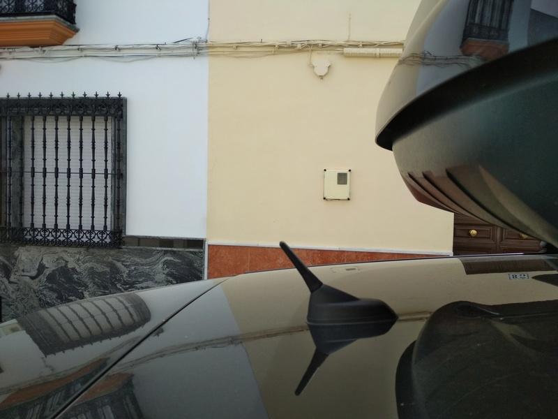 Instalación plafón matricula led original citroen + bonus antena+luz cofre Img_2021