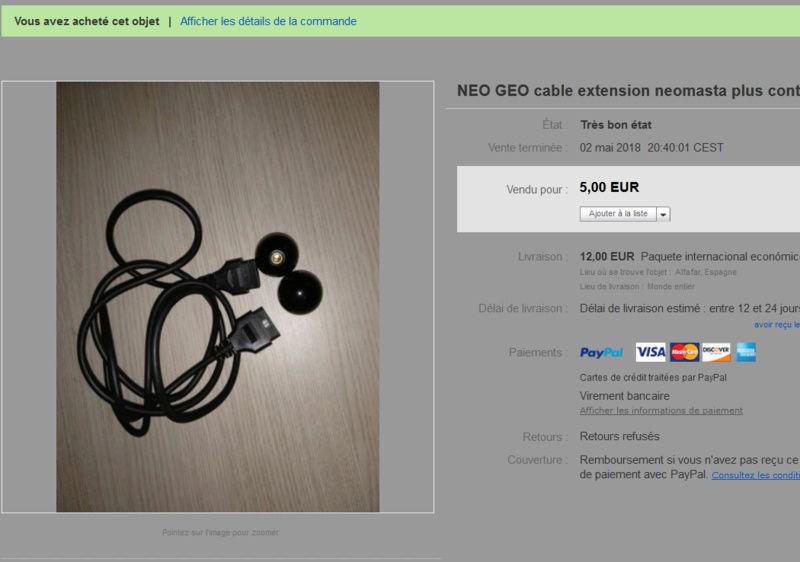 Votre dernière acquisition Neomas10