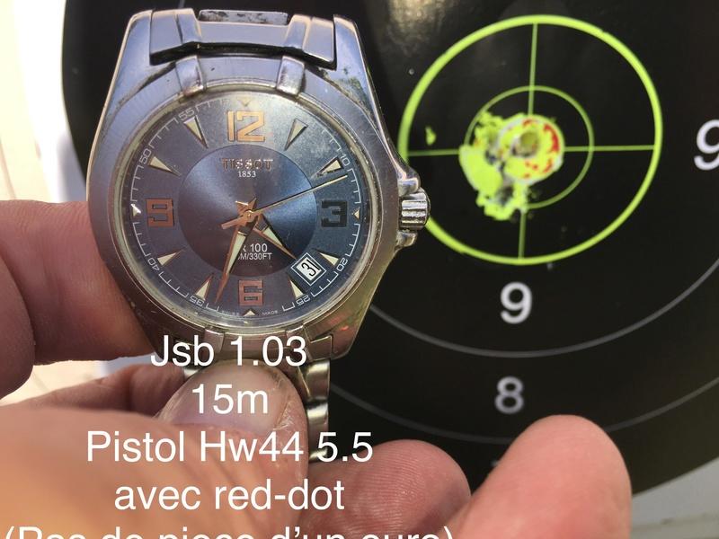 weihrauch - Pistolet weihrauch Hw44 5.5 H&N jsb 1.03g 15m en appui Red Dot 35€ 577dfe10