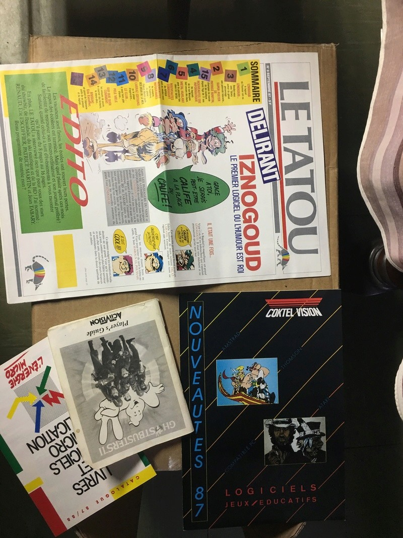 [Estim] lot de boîtes et livre Amstrad 1512 57dbb110