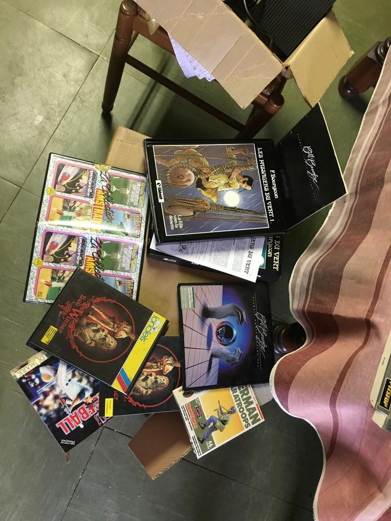 [Estim] lot de boîtes et livre Amstrad 1512 747c8210