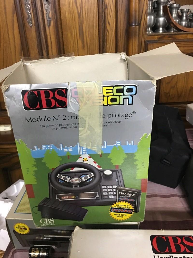 [Estim] CBS console coleco vision + accessoires + jeux cbs + jeux atari D3cf4910
