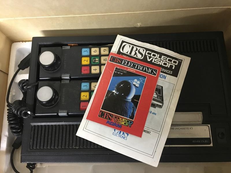 [Estim] CBS console coleco vision + accessoires + jeux cbs + jeux atari D88ec810