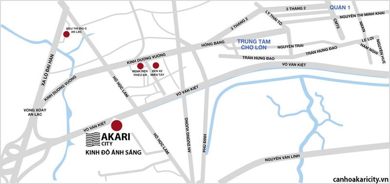 Cập nhật thông tin mới nhất về căn hộ Akari City Bình Tân Vi-tri14