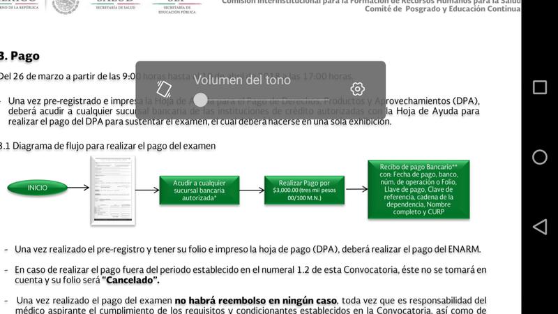 ERROR AL REALIZAR EL PAGO Screen12