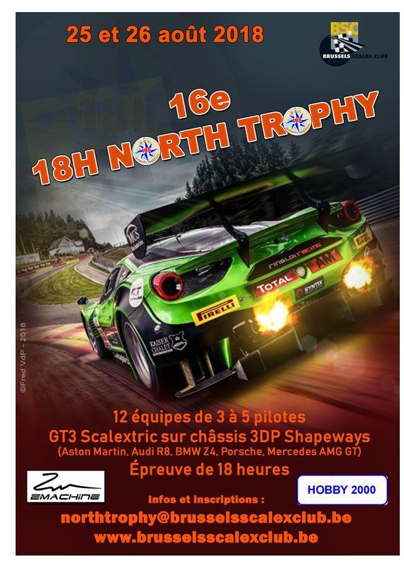 North Trophy 2018 - 25 et 26 août Affich10