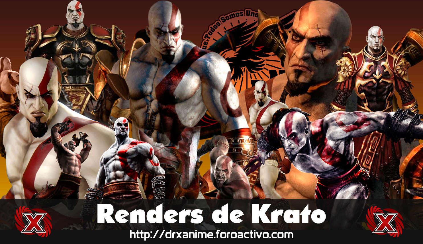 11 Renders de Krato - Dios de la Guerra Render10