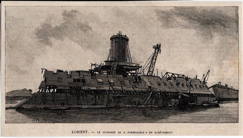 """Le cuirassé """"le Formidable"""" (1885) - Page 4 2910"""
