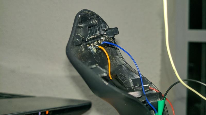 Esquema da placa de controle - Saitek Yoke Flight System Img_2011