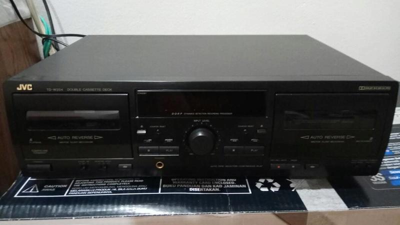 JVC TD-W254 double cassette deck Whatsa10
