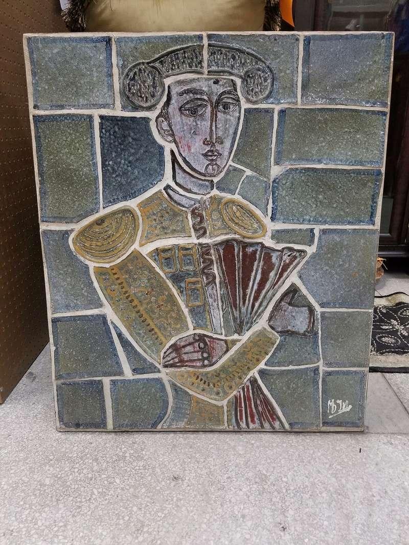Matador & Bull Ceramic Pottery Wall Panels 20180415