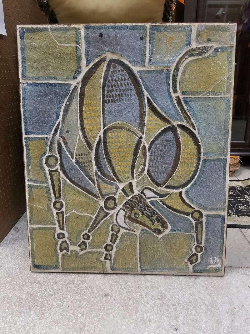 Matador & Bull Ceramic Pottery Wall Panels 20180417