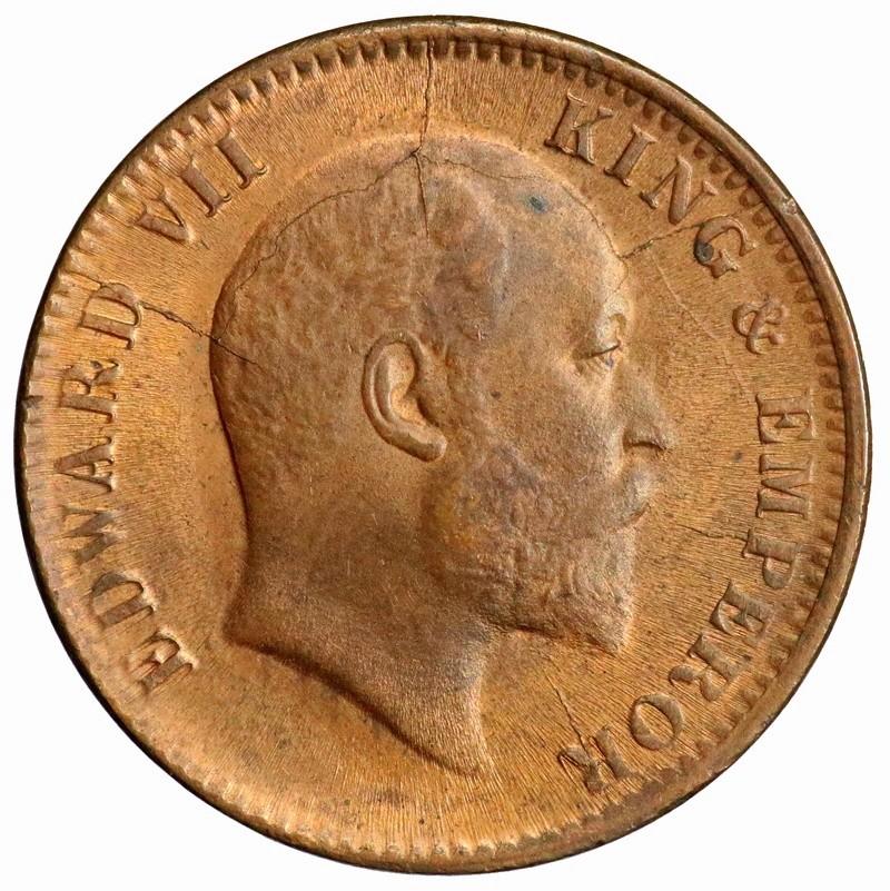India Británica, 1/4 Anna 1906 Eduardo VII ¿Es Unc para vosotros? India-13