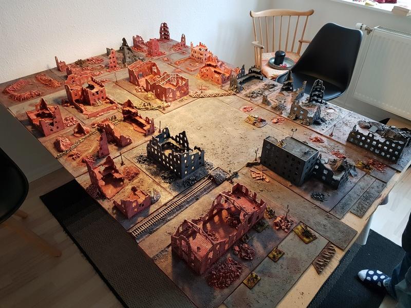 Urban assault - 750pts FotR game 112