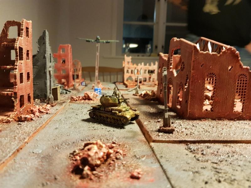 Urban assault - 750pts FotR game 16_wir10