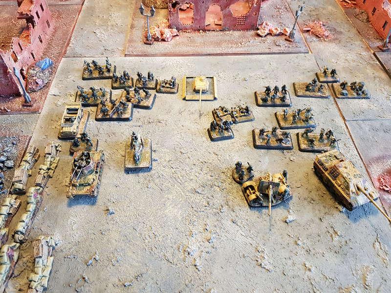 Urban assault - 750pts FotR game 310
