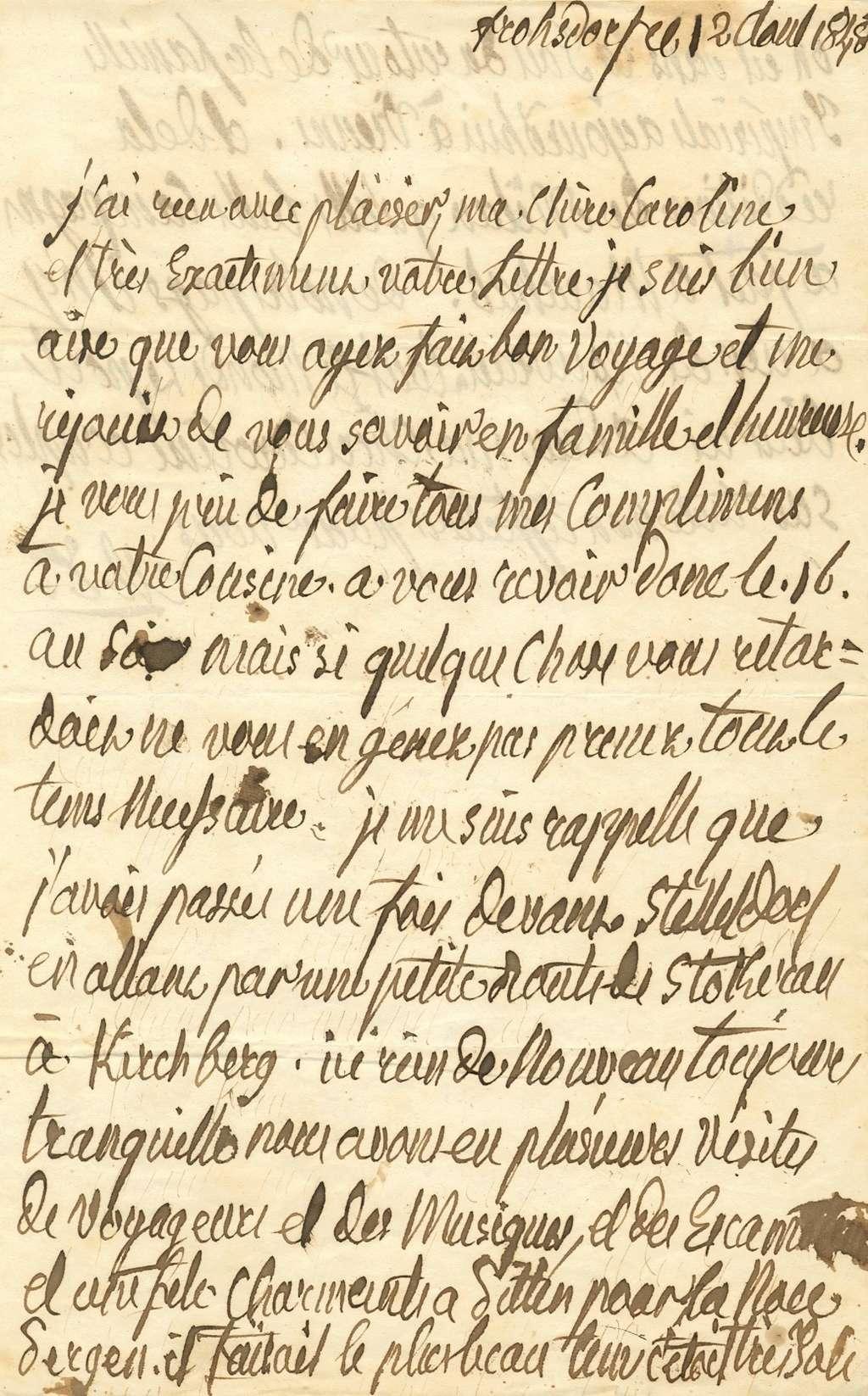 Ecrits de Marie Thérèse Charlotte, Madame Royale 15265610