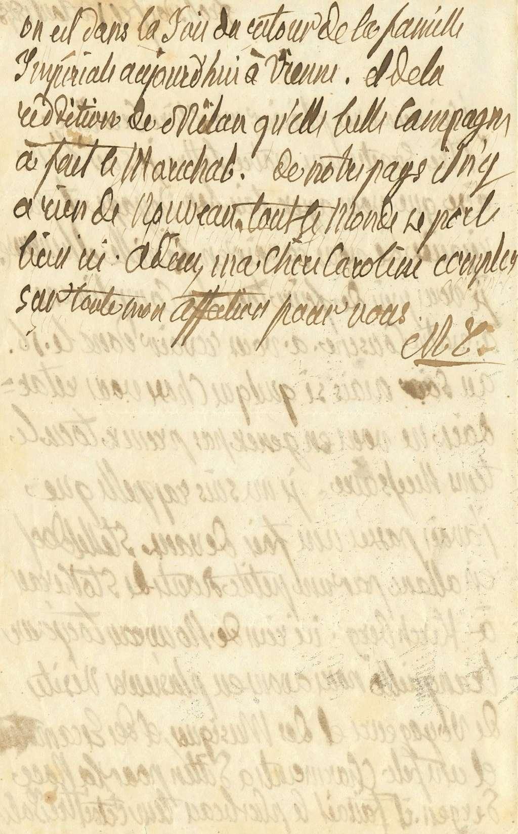 Ecrits de Marie Thérèse Charlotte, Madame Royale 15265611
