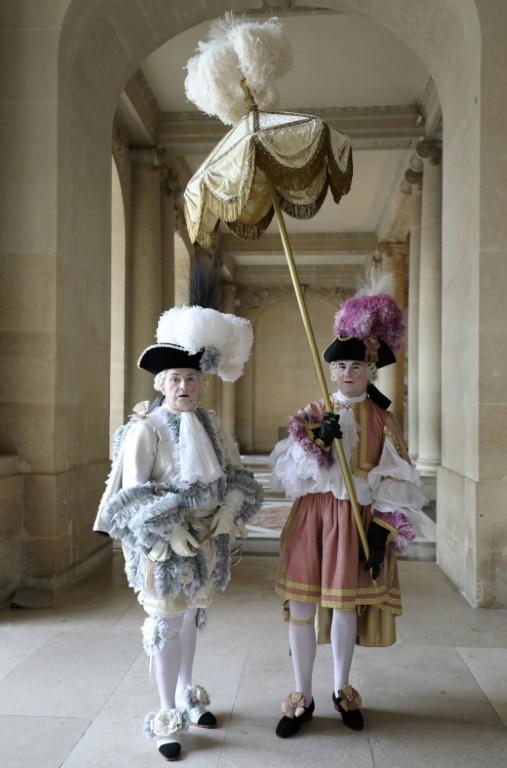 Fêtes galantes à Versailles, photos et films de l'événement 40904c10