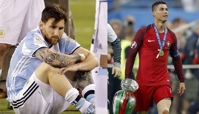 Jamani hebu tuwe wakweli, hivi Messi ana kipi cha kumzidi Ronaldo?! 50858210