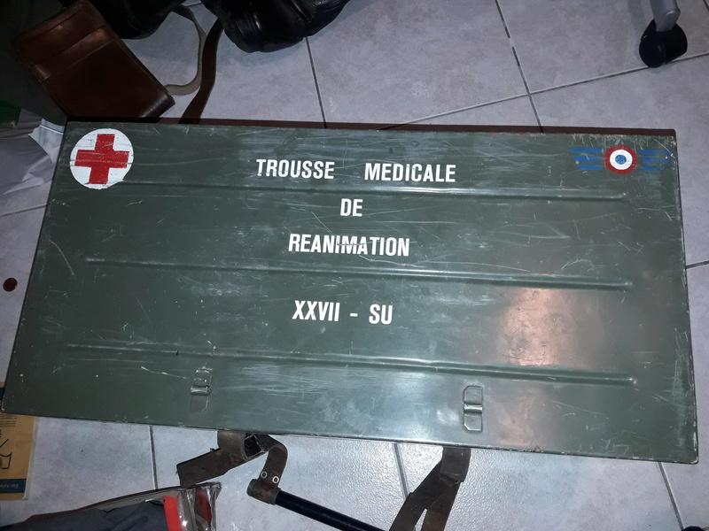 Caisse médicale pour réanimation à identifier  20180417