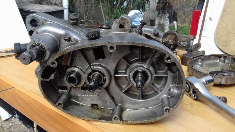 dépose complet moteur flandria 4,3cv à 4vitesse a main 20180470