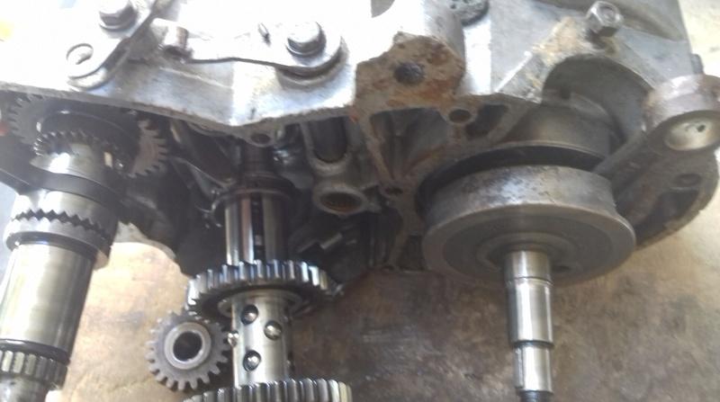 dépose complet moteur flandria 4,3cv à 4vitesse a main 20180473