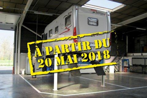 Les camionnettes aménagées seront recalées au contrôle technique Contro10