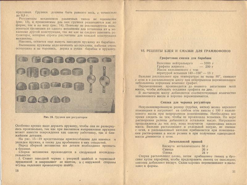 Книга РЕМОНТ ПАТЕФОНОВ авт. С.Б.Богин изд. КОИЗ 1937 год 1810