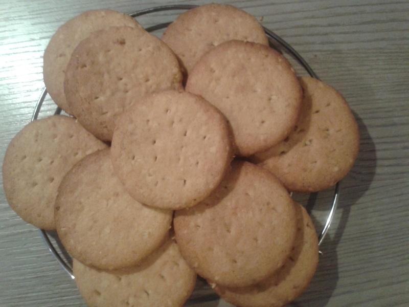 petite recette de sablé maison  20150311