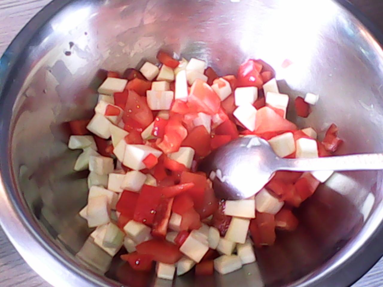 Curry de saumon, lait de coco & son riz  Img_2054