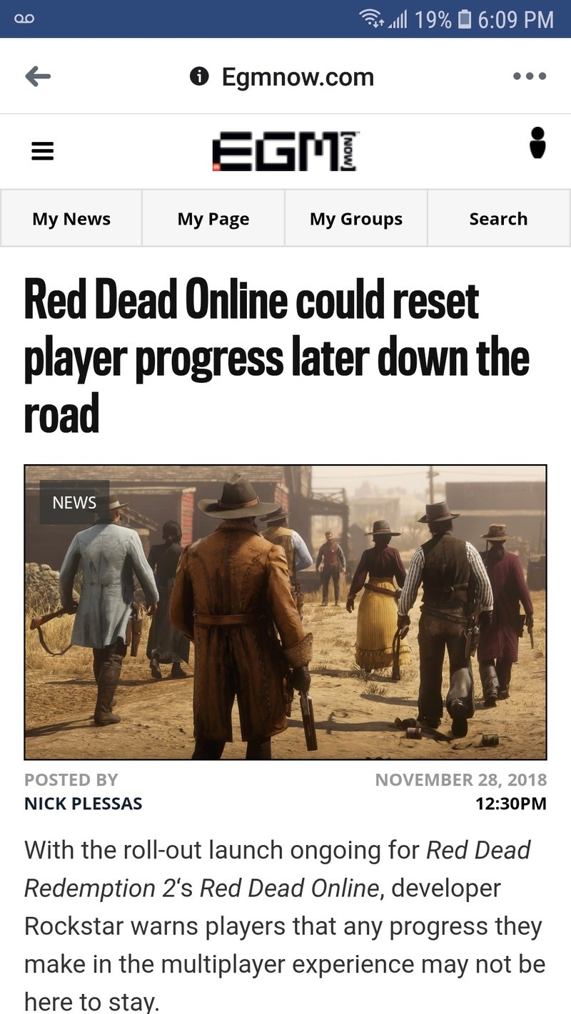 #RDR2 Lost Progression Issue due to Online Screen10