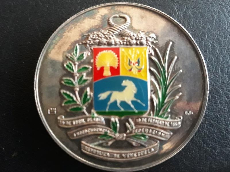 Medalla de Vanezuela 20180412