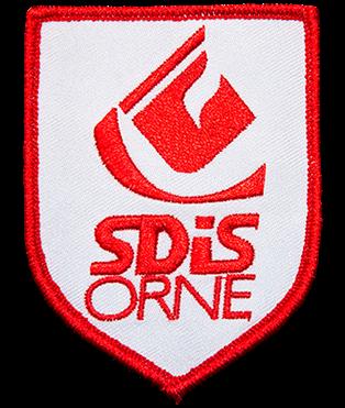 Ecusson SDIS 61 Insign10