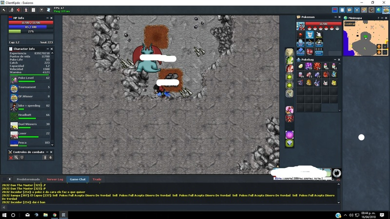 Player vendendo pokes po dineiro real  Trade110