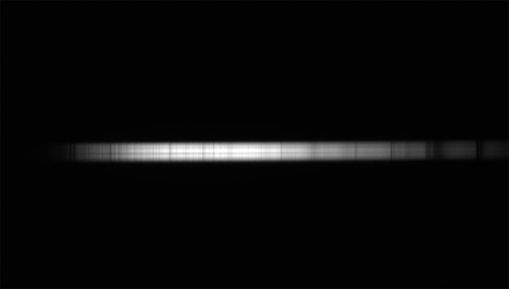 Comparaison des spectres du Soleil, de Jupiter et de Saturne. Spectr12