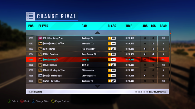 FH3 Time Attack   Stock Car Challenge #36 (1992 Nissan Silvia Club K's) 96830410