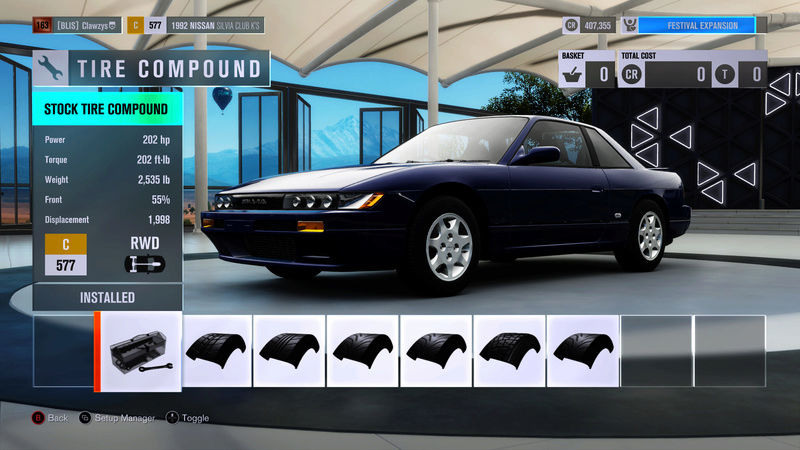 FH3 Time Attack   Stock Car Challenge #36 (1992 Nissan Silvia Club K's) A3746d10