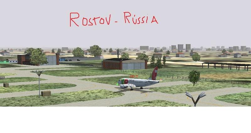 Sochi-Rostov (Rússia). Última perna para copa da Rússia. Acabou a copa a viagem polar. Rostov10