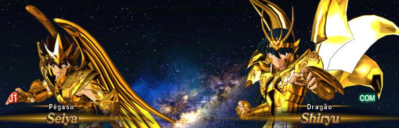 Armaduras divinas de bronze douradas Screen13