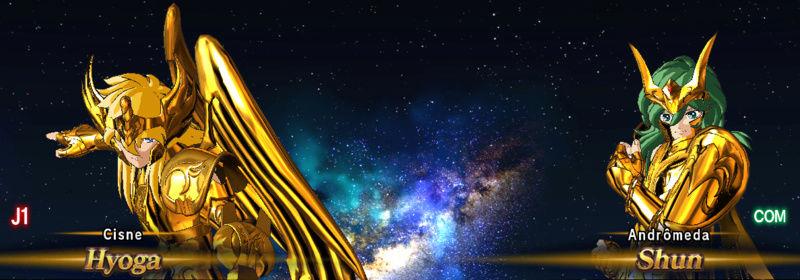 Armaduras divinas de bronze douradas Screen14