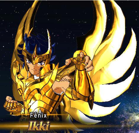 Armaduras divinas de bronze douradas Screen15