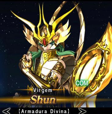 Cavaleiros de bronze com as armaduras de ouro divinas Screen22