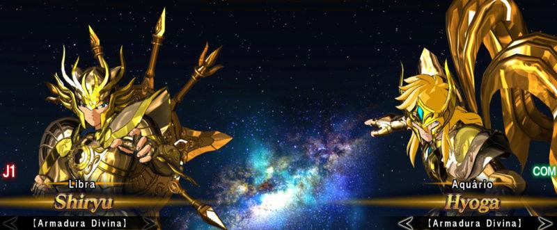 Cavaleiros de bronze com as armaduras de ouro divinas Screen23