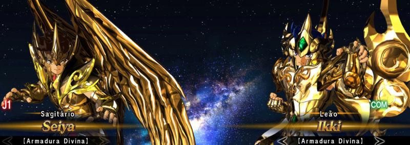 Cavaleiros de bronze com as armaduras de ouro divinas Screen24