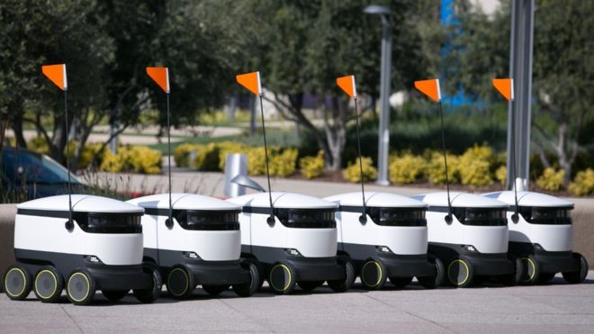 Robot company Starship Technologies plans 1,000 delivery bots _1011010