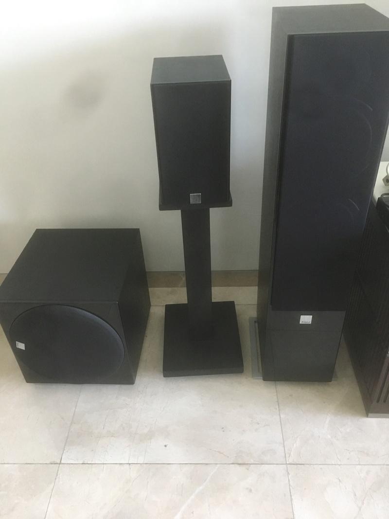Dali Zensor Speaker set and Yamaha Amp Img_2710